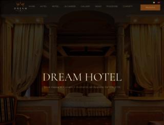 dreamhotelcomo.com screenshot