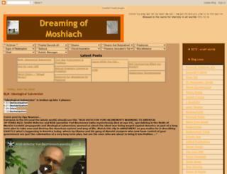 dreamingofmoshiach.blogspot.com screenshot