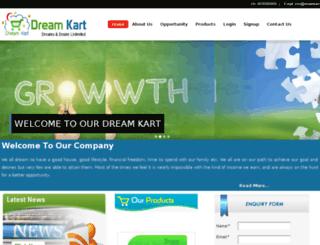 dreamkart.net screenshot