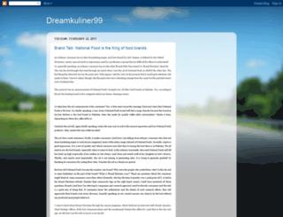 dreamkuliner99.blogspot.com screenshot