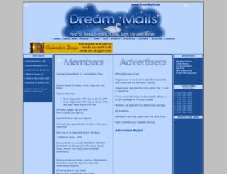 dreammails.net screenshot