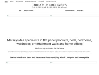 dreammerchants.co.uk screenshot