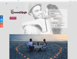 dreammingle.com screenshot