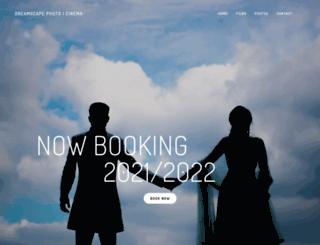 dreamscapevideography.com screenshot