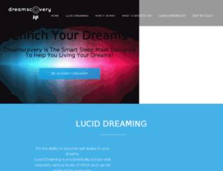 dreamscovery.com screenshot