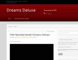 dreamsdeluxe.wordpress.com screenshot