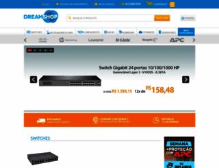 dreamshop.com.br screenshot