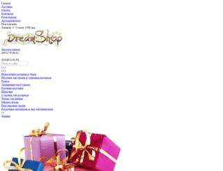 dreamshop.com.ua screenshot