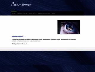 dreamsinnco.webs.com screenshot
