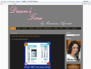 dreamstma.blogspot.com.br screenshot