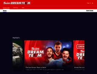 dreamteamfc.com screenshot
