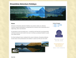 dreamtimeholidays.wordpress.com screenshot