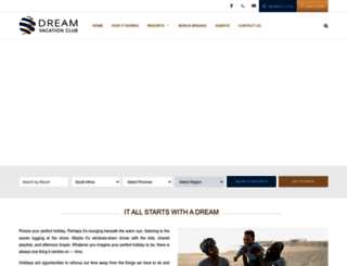 dreamvacs.com screenshot