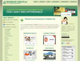 dreamweaver-templates.net screenshot