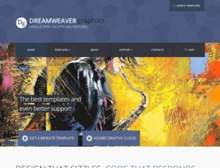 dreamweavergraphics.net screenshot