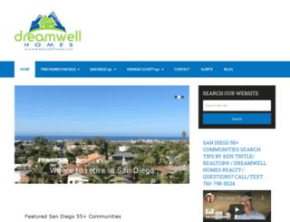 dreamwellhomes.com screenshot