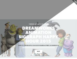 dreamworkssiggraphhappyhour.splashthat.com screenshot
