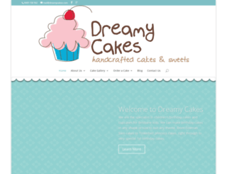 dreamycakes.com screenshot