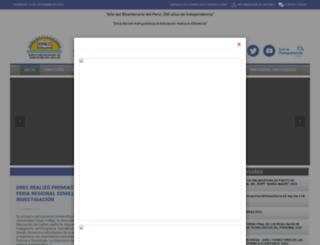 drec.gob.pe screenshot