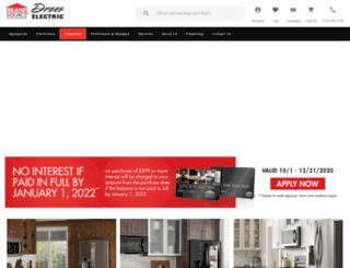 dreeselectric.com screenshot