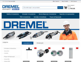dremelferramentas.com.br screenshot