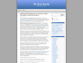 drerickurtz.wordpress.com screenshot