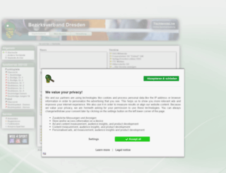 dresden.tischtennislive.de screenshot