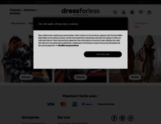 dress-for-less.fr screenshot
