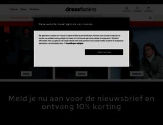 dress-for-less.nl screenshot