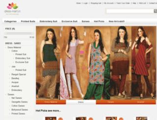 dress-mart.com screenshot
