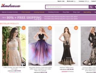 dress-showcase.com screenshot