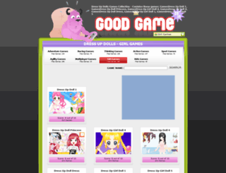 dress-up-dolls.goodgame.co.in screenshot