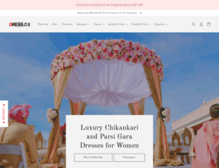dress365days.com screenshot