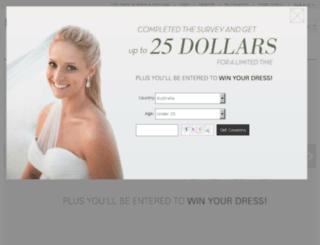 dress4australia.com.au screenshot