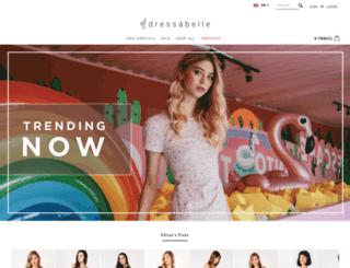 dressabelle.com.my screenshot