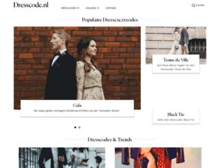 dresscode.de screenshot