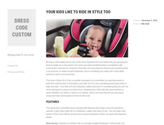 dresscodecustom.com screenshot