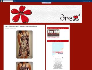 dresscube.blogspot.com screenshot