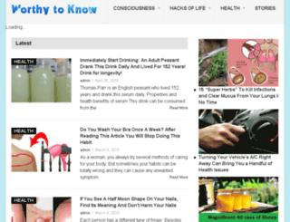 dresser.worthytoknow.com screenshot