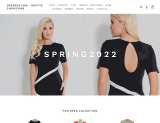 dresses.com screenshot