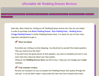 dressesforwedding.work screenshot