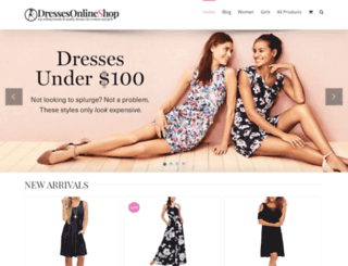 dressesonlines.com screenshot
