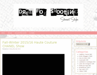 dressforshooting.com screenshot