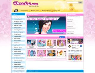 dressica.com screenshot