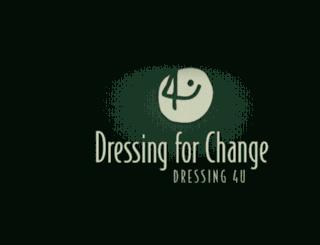 dressing4change.com screenshot