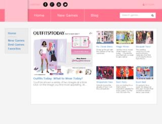 dressinggames.net screenshot