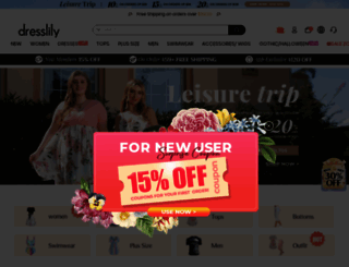 dresslily.com screenshot