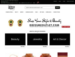 dressmeoutlet.com screenshot
