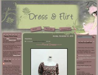 dressnflirt.blogspot.com screenshot