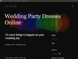 dressnight.blog.com screenshot
